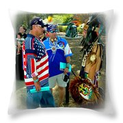 Native Intelligence Throw Pillow
