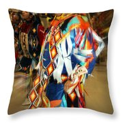 Native Leader Throw Pillow