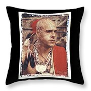 Native Of New York State Throw Pillow
