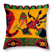 Native Tapestry Throw Pillow