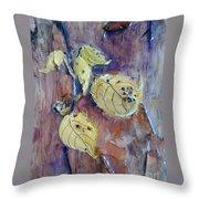 Native Yellow  Throw Pillow
