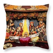 Natividad  Throw Pillow