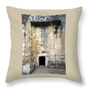 Nativity Church Throw Pillow