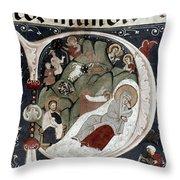Nativity/croatian Throw Pillow