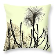 Natural 2 13b Throw Pillow