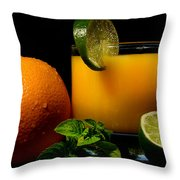 Natural And Tasty Throw Pillow