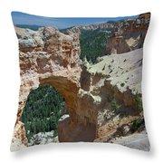Natural Arch Bryce Canyon - Utah Throw Pillow