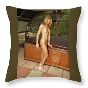 Natural Beauty 325 Throw Pillow