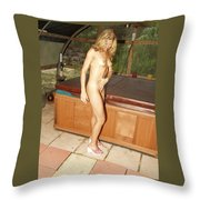 Natural Beauty 326 Throw Pillow