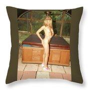 Natural Beauty 327 Throw Pillow