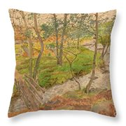 Natural Beauty Of Grindleford Throw Pillow