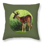 Natural Beauty - Original Version Throw Pillow