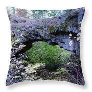 Natural Bridge Two   Throw Pillow