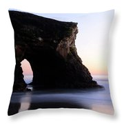 Natural Bridges Detail Throw Pillow