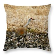 Natural Camouflage Throw Pillow