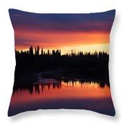 Natural Chena Throw Pillow