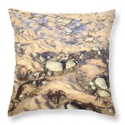 Natural Dishevelment On The Beach, Ireland Throw Pillow