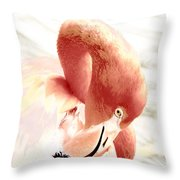 Natural Flare Throw Pillow