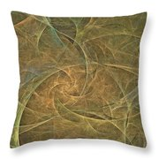 Natural Forces- Digital Wall Art Throw Pillow