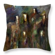 Natural Instincts Throw Pillow