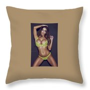 Natural Natual Skin Care Products Throw Pillow