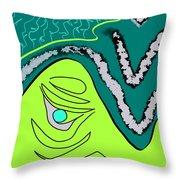Natural Pearl Throw Pillow