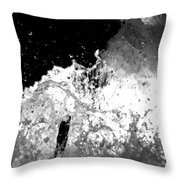 Natural Power Throw Pillow