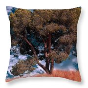 Nature - Green Tree Throw Pillow