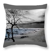 Nature - Sad Tree Throw Pillow