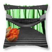 Nature And Technology Throw Pillow