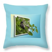Nature Bird Throw Pillow