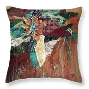 Nature's Display Throw Pillow by Phyllis Howard