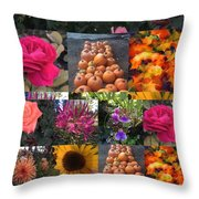 Nature Color Throw Pillow