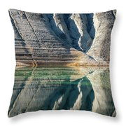 Nature Colorful Water Abstract Throw Pillow