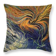 Nature Frustration Throw Pillow