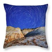 Nature Geometry Throw Pillow