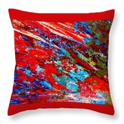 Nature Harmony Throw Pillow