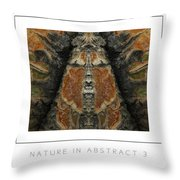 Nature In Abstract 3 Poster Throw Pillow