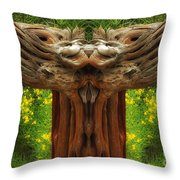 Nature In Abstract 4 Throw Pillow