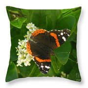 Nature In The Wild - Landing Perfectly Throw Pillow