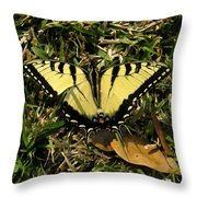 Nature In The Wild - Splendor In The Grass Throw Pillow