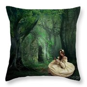 Nature Is Her Adornment Throw Pillow
