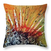 Nature Is Life Life Is Nature Be Bright Be Bold Series Throw Pillow