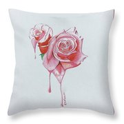 Nature Love Throw Pillow