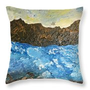 Nature On The Sea Throw Pillow