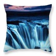 Nature Phenomena Throw Pillow