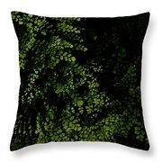 Nature Plants Throw Pillow