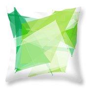 Nature Polygon Pattern Throw Pillow