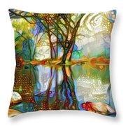 Nature Reflections 2 Throw Pillow
