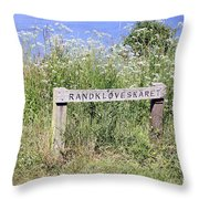 Nature Reservoir.denmark Throw Pillow